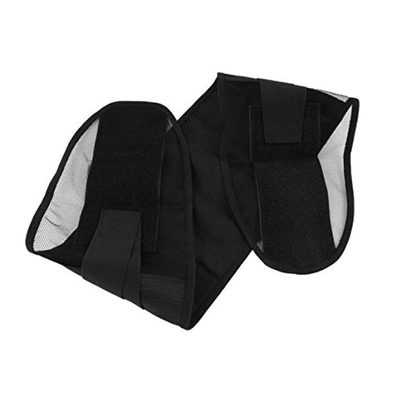 冷淡なタブレット予感ウエストサポートウエストプロテクション薄型通気性メッシュランバーサポートスチール製保護ベルトSport-Black XL