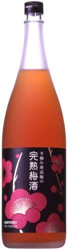 手摘み南高梅の完熟梅酒 12度 瓶1800ml