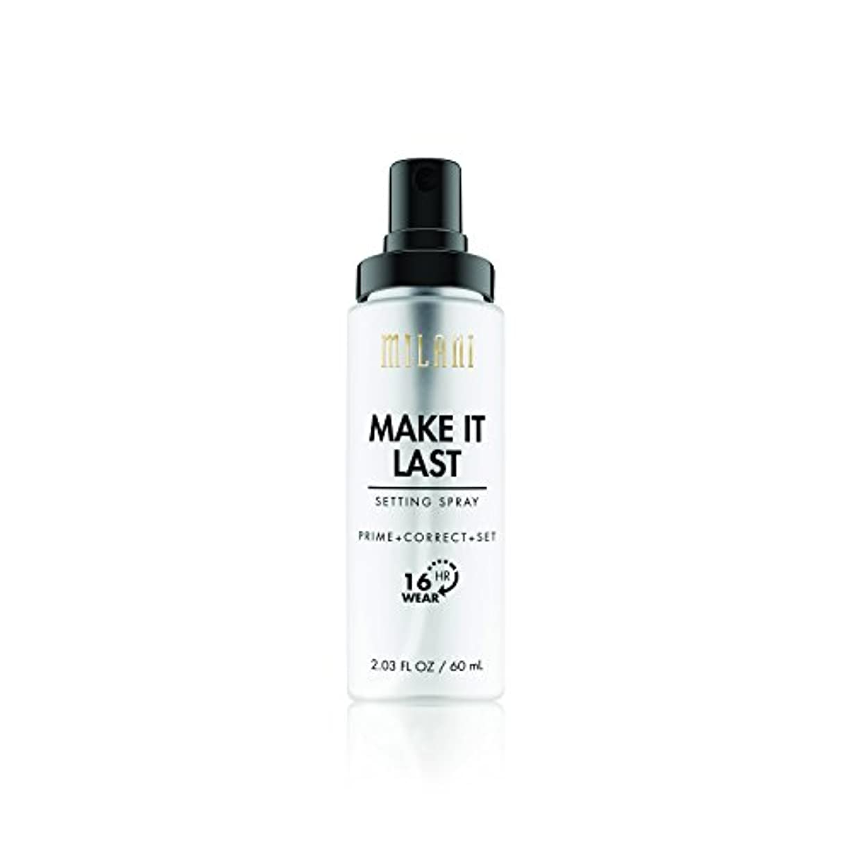 代理人素子行列MILANI Make It Last Setting Spray - Prime + Correct + Set (並行輸入品)