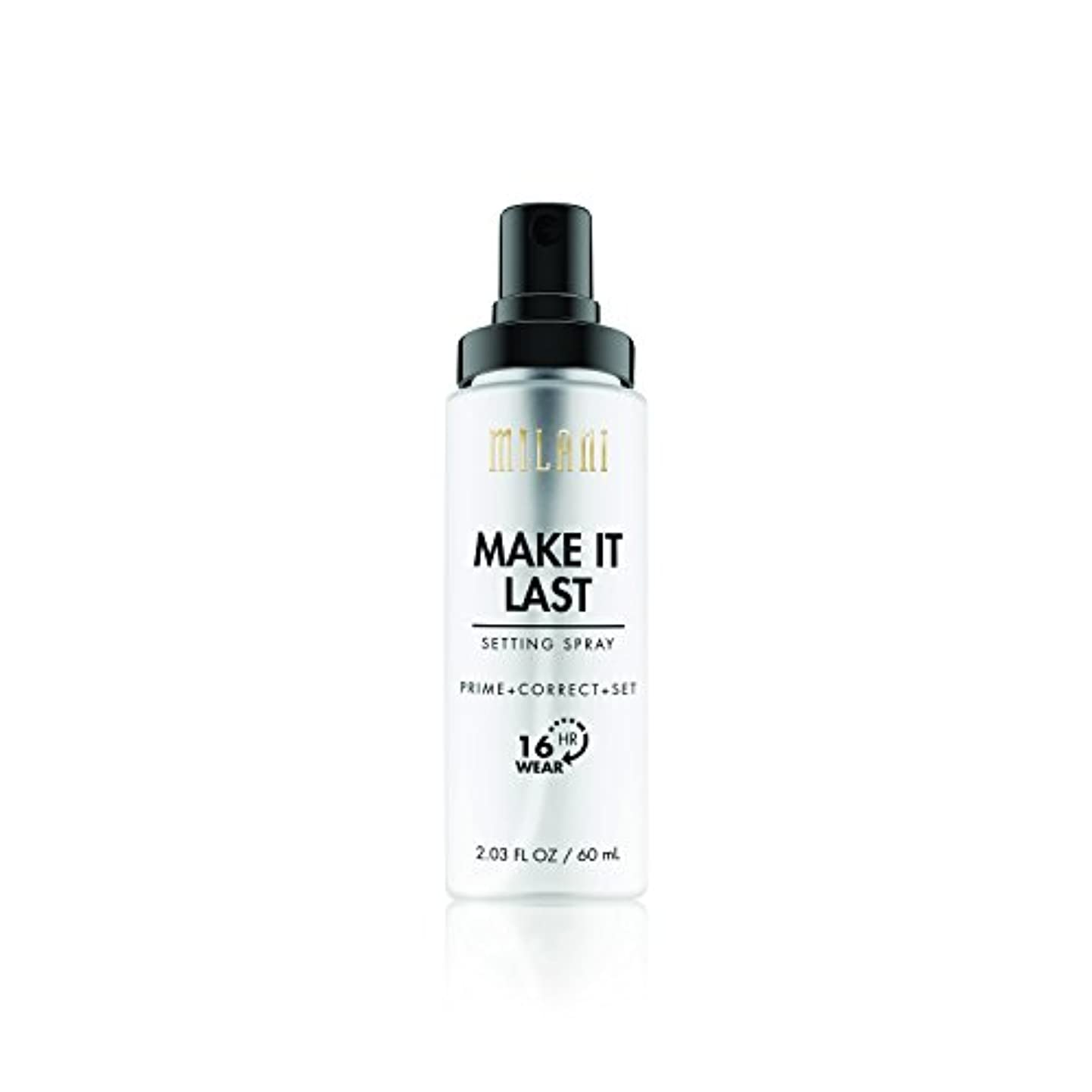 パンチ探偵ホールMILANI Make It Last Setting Spray - Prime + Correct + Set (並行輸入品)