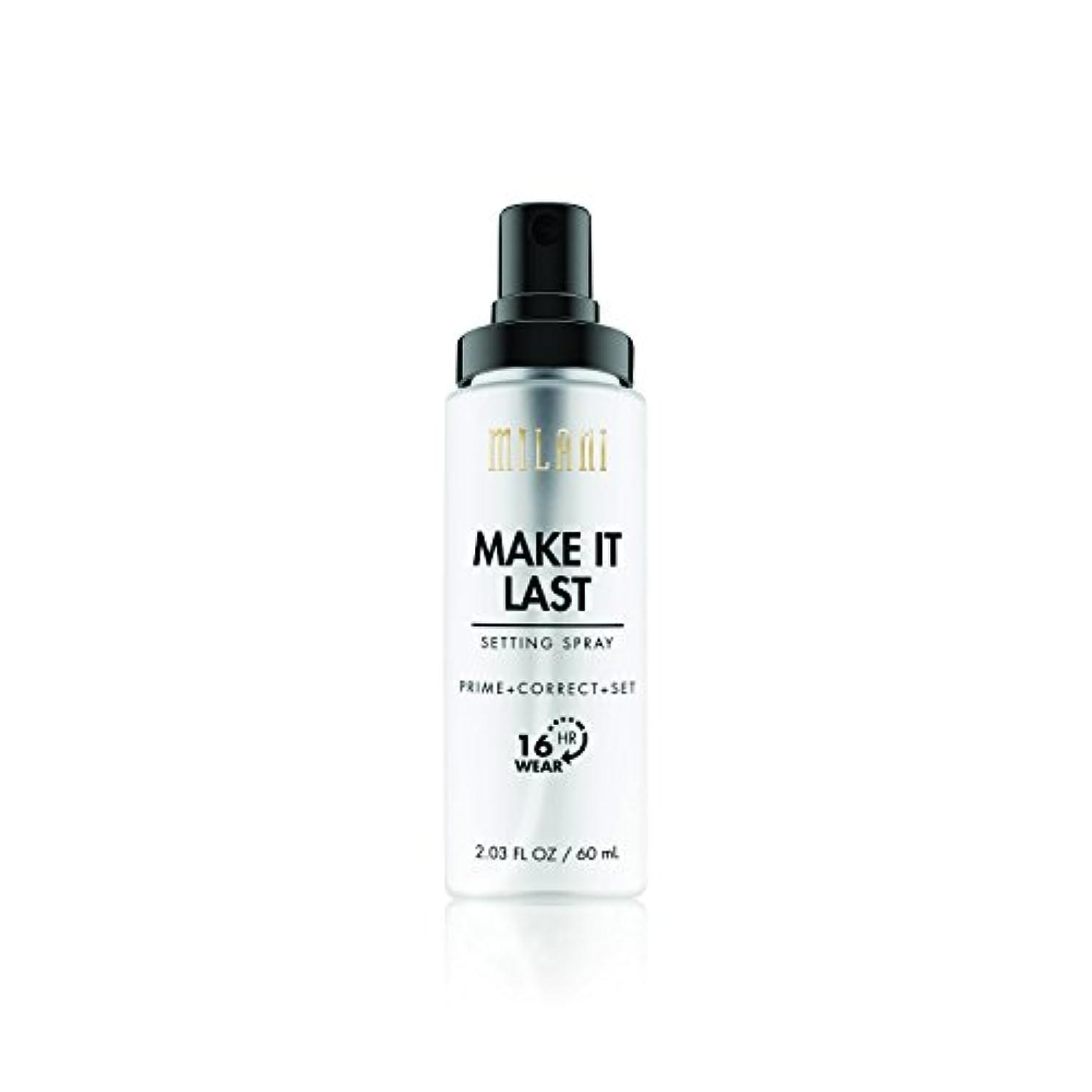 魔法仕方家禽MILANI Make It Last Setting Spray - Prime + Correct + Set (並行輸入品)