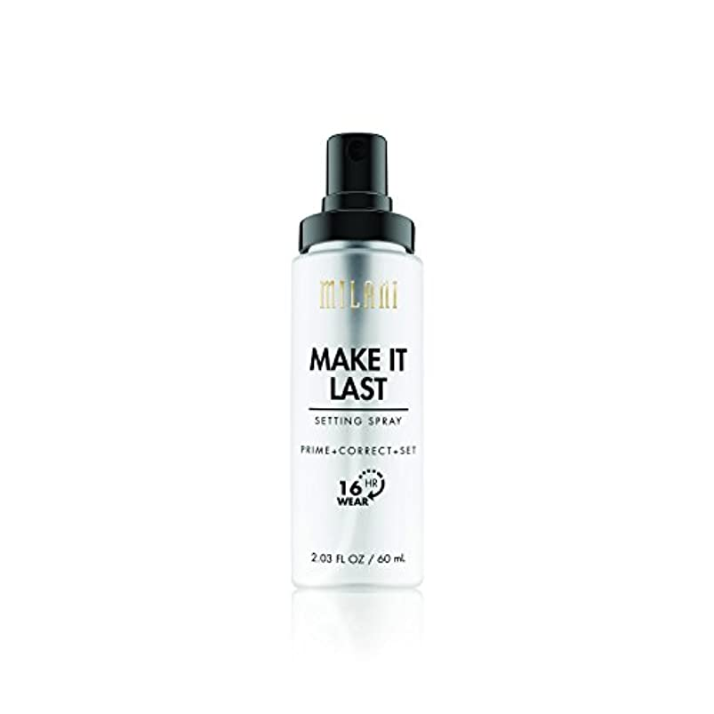 チャンバーインスタンス作家MILANI Make It Last Setting Spray - Prime + Correct + Set (並行輸入品)