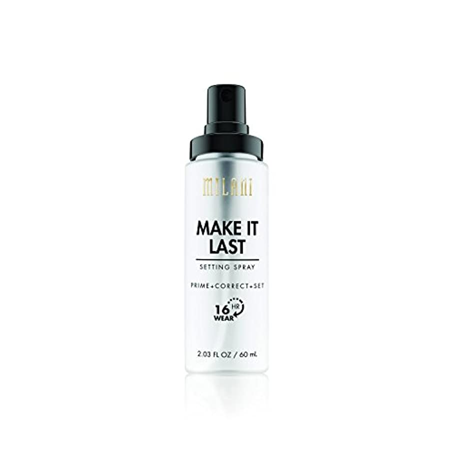 騒自治的頑張るMILANI Make It Last Setting Spray - Prime + Correct + Set (並行輸入品)