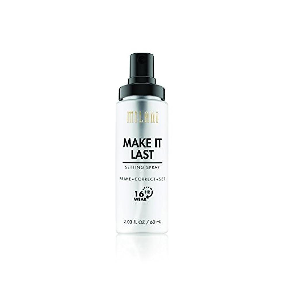 操作可能一晩騒乱MILANI Make It Last Setting Spray - Prime + Correct + Set (並行輸入品)