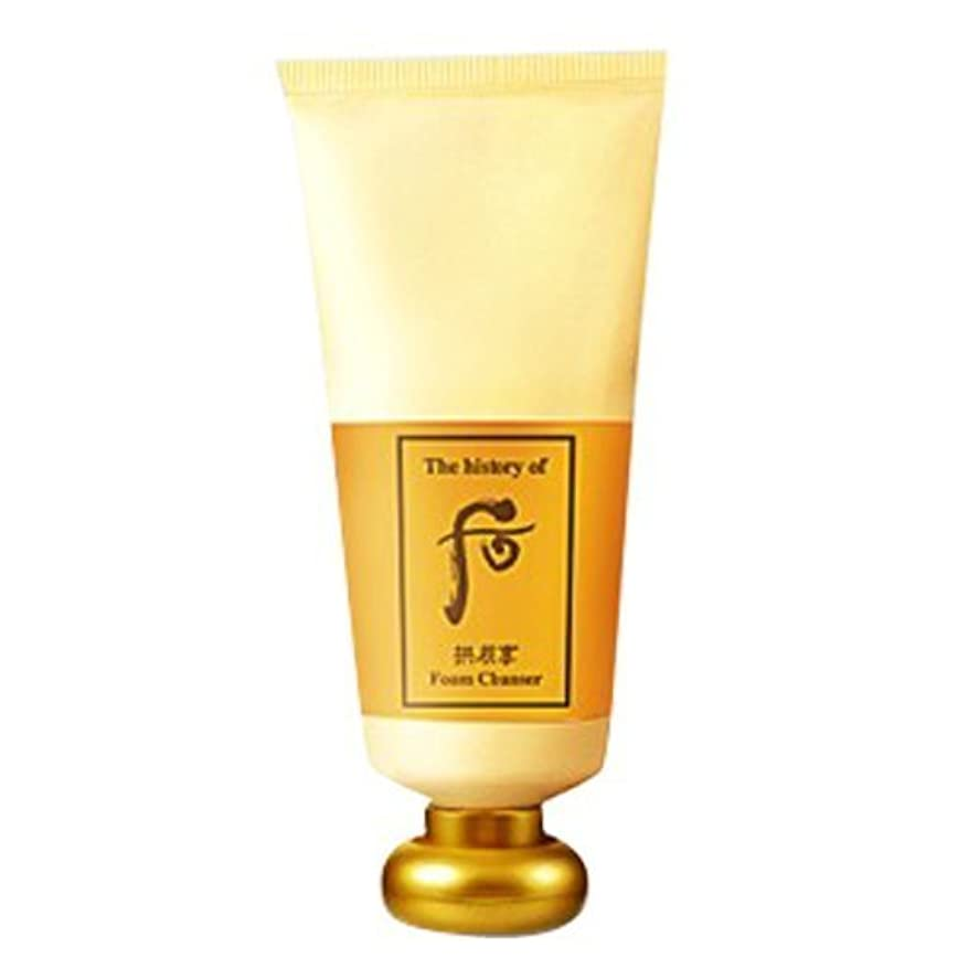 例ハイブリッドドロップThe History of Whoo Gongjinhyang Foam Cleanser 180ml