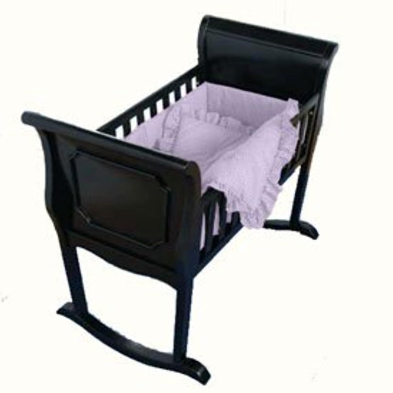 BabyDoll ラベンダーギンガムクレードル寝具 18インチ×36インチ