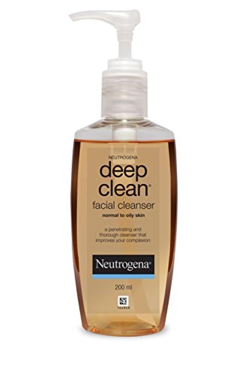 無傷食い違いスキームNeutrogena Deep Clean Facial Cleanser, 200ml