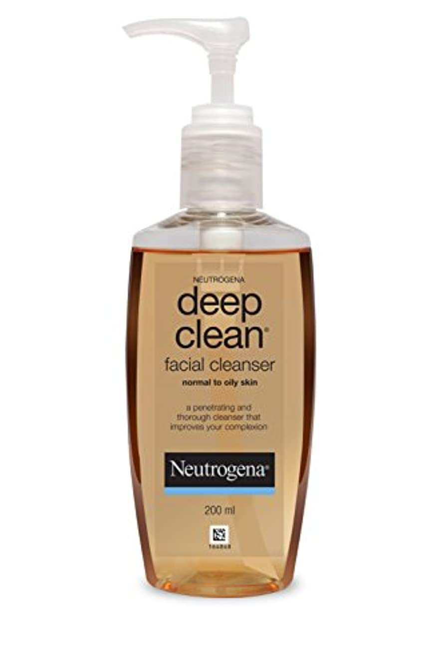 小間オプショナルスローガンNeutrogena Deep Clean Facial Cleanser, 200ml