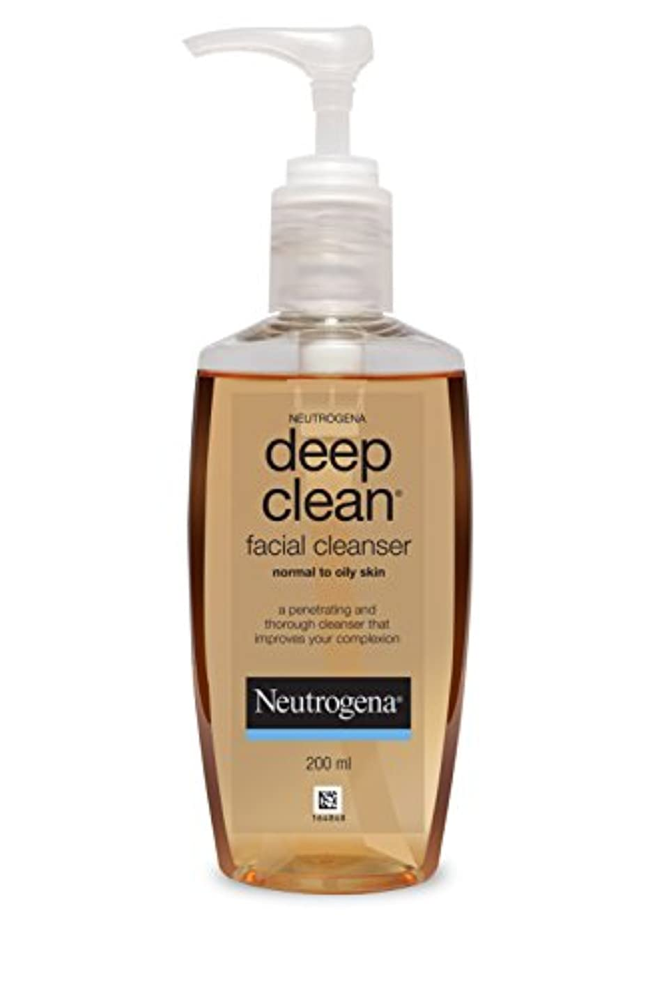 作成するステッチ冒険Neutrogena Deep Clean Facial Cleanser, 200ml