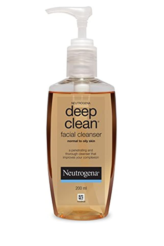 シガレット合理化子Neutrogena Deep Clean Facial Cleanser, 200ml