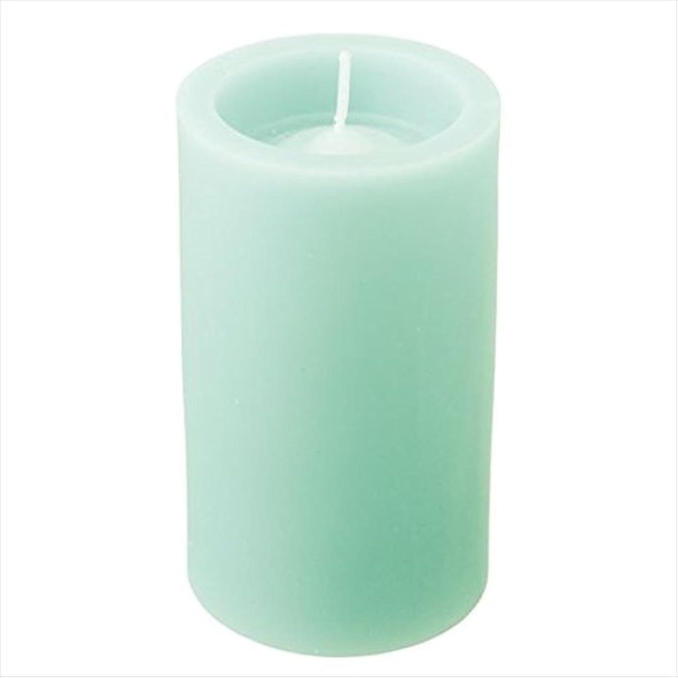 原点王位ありがたいカメヤマキャンドル( kameyama candle ) ロイヤルラウンド50 「 ライトグリーン 」