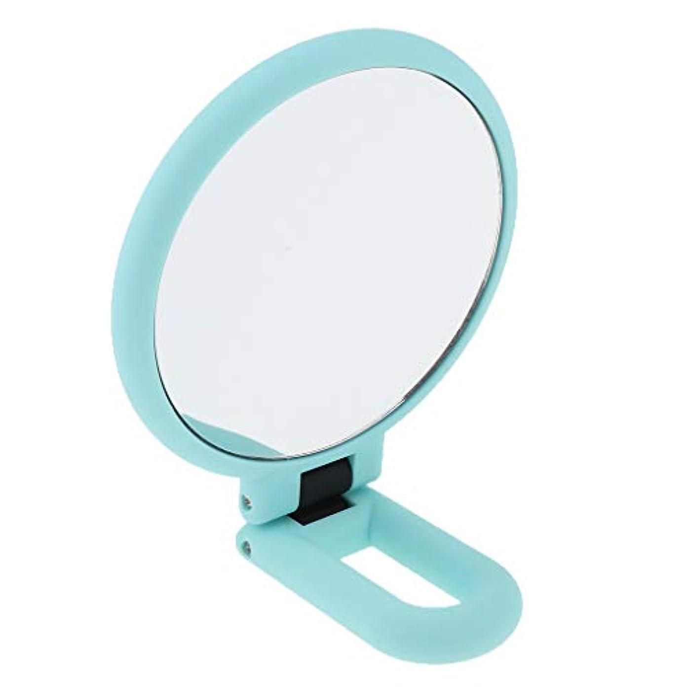 笑木劇的SM SunniMix 全3サイズ 2倍/3倍/15倍 ハンドヘルド 化粧鏡 拡大鏡 ミラー - 15倍の拡大鏡