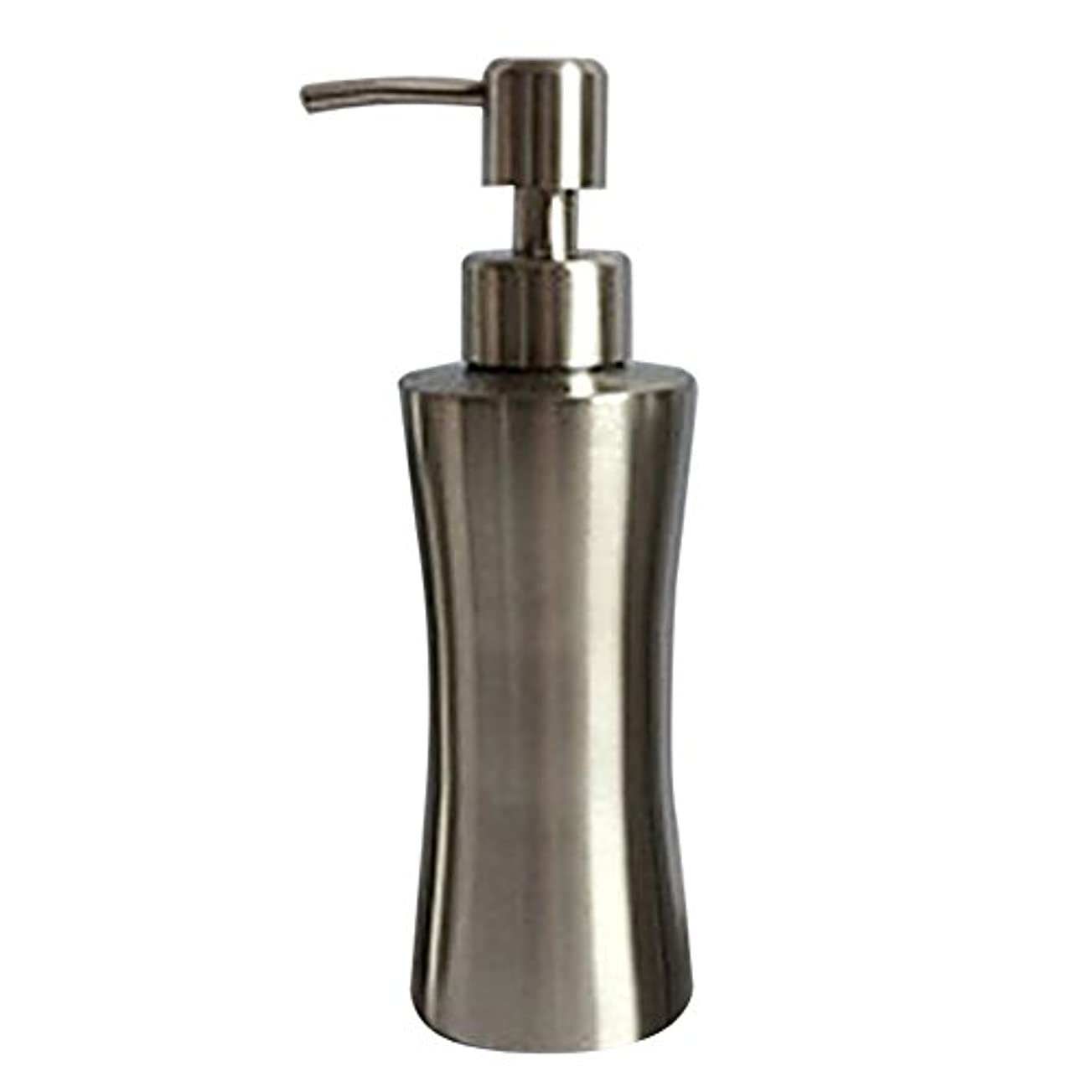 変える包囲チョコレートディスペンサー ステンレス ボトル 容器 ソープ 石鹸 シャンプー 手洗いボトル 耐久性 錆びない 220ml/250ml/400ml (B:250ml)