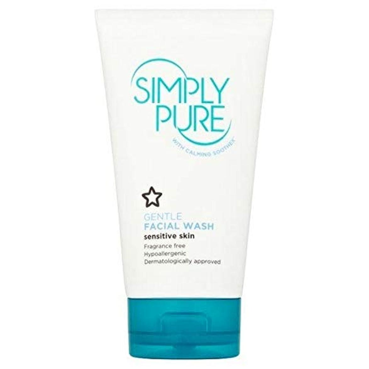満足マッサージところで[Simply Pure] 単に純粋な洗顔の150ミリリットル - Simply Pure Face Wash 150ml [並行輸入品]