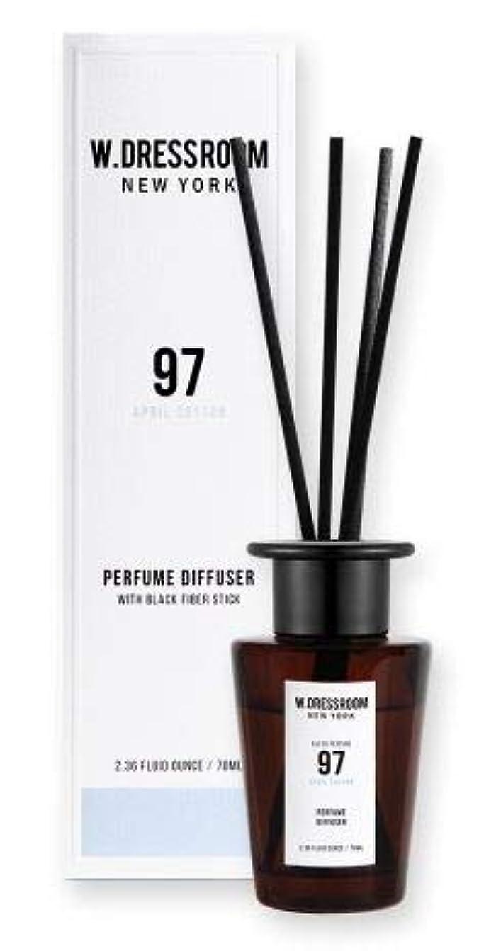 ひそかに右育成W.DRESSROOM Perfume Diffuser 70ml #No.97 April Cotton/ダブルドレスルーム パフュームディフューザー 70ml #No.97 エイプリルコットン [並行輸入品]