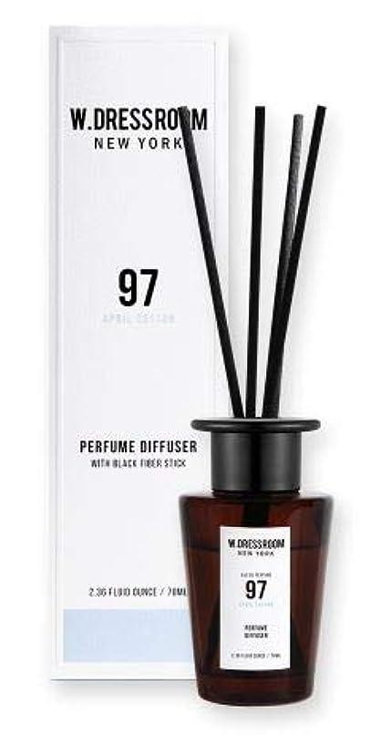 散らす化粧スチールW.DRESSROOM Perfume Diffuser 70ml #No.97 April Cotton/ダブルドレスルーム パフュームディフューザー 70ml #No.97 エイプリルコットン [並行輸入品]