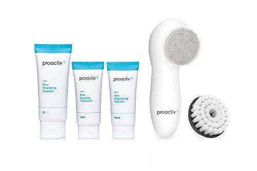 プロアクティブ+ Proactiv+ 薬用3ステップセット30日サイズ 電動洗顔ブラシ(シリコンブラシ付)プレゼント