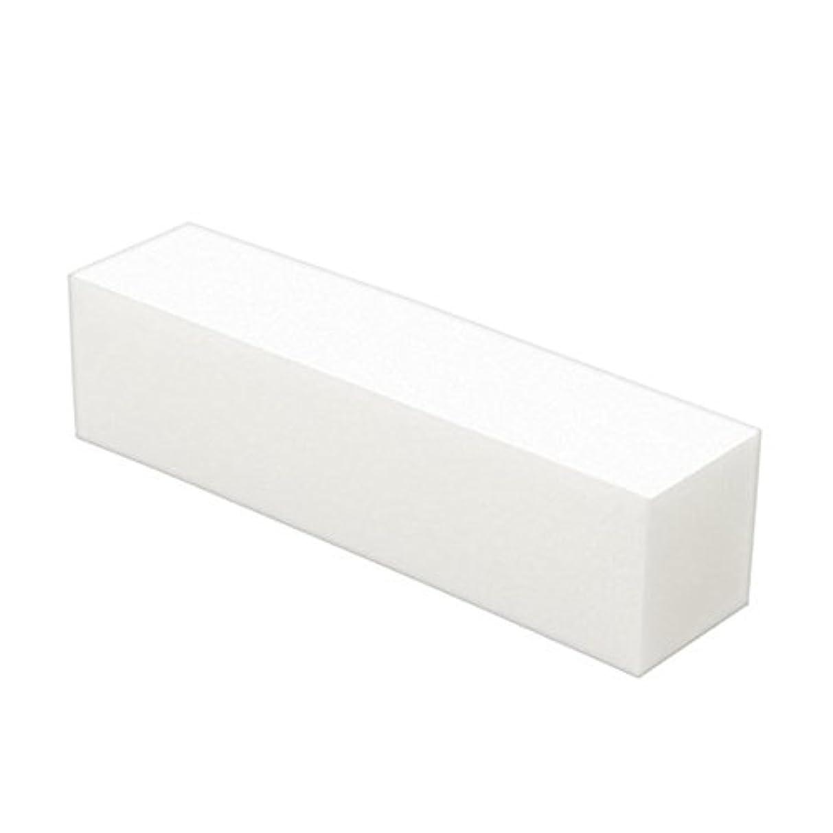 Poonikuuネイル用ファイル ネイル爪やすり 爪磨き ケアツール ネイルやすり 小型便利 5本セット ホワイト