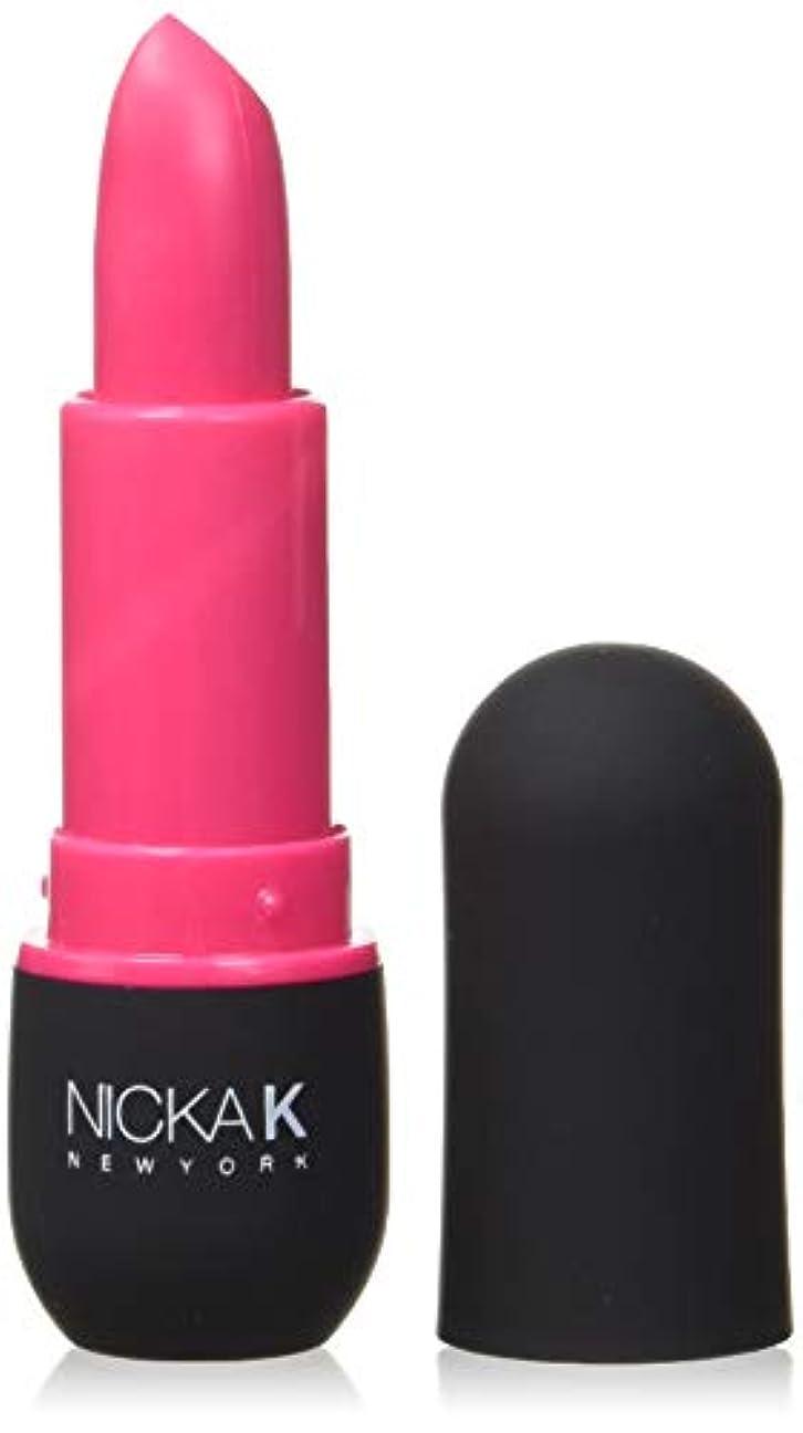 麺交じる子猫NICKA K Vivid Matte Lipstick - NMS16 Fashion Fuchsia (並行輸入品)