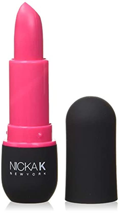 規定バンジージャンプ不明瞭NICKA K Vivid Matte Lipstick - NMS16 Fashion Fuchsia (並行輸入品)