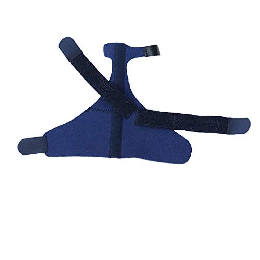 ラップビバ落花生指関節炎外反母趾矯正手首手首の傷害回復副木セパレーター手矯正手根管関節痛リリーフコレクター,Royalblue