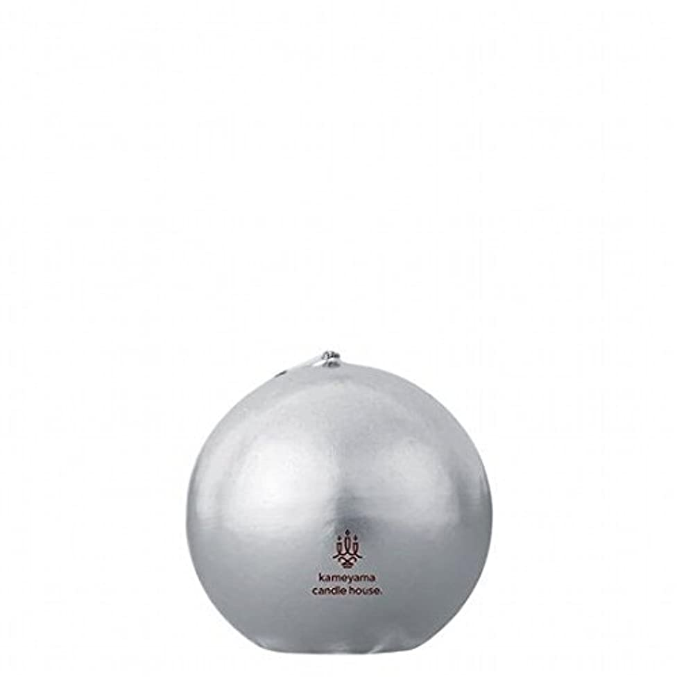 腹部進化する干渉するkameyama candle(カメヤマキャンドル) メタリックボール60 「 シルバー 」(A9640100SI)