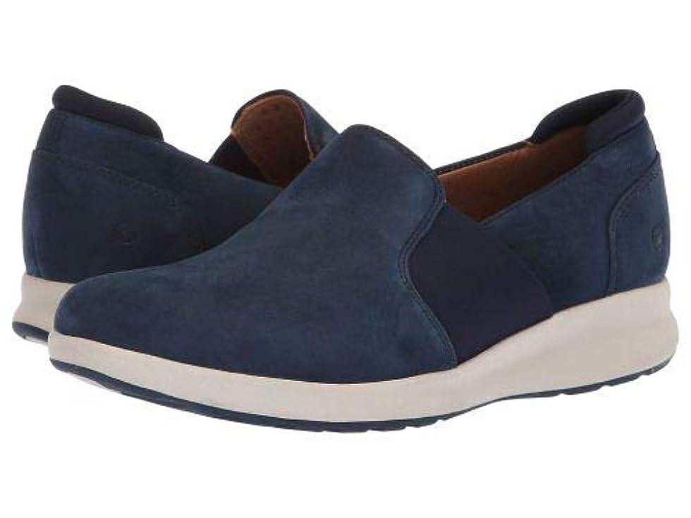 心理学衰える第九Clarks(クラークス) レディース 女性用 シューズ 靴 スニーカー 運動靴 Un Adorn Step - Navy Nubuck [並行輸入品]