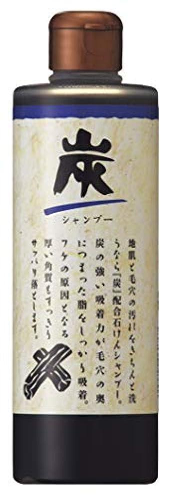 仲人矢顔料炭 シャンプー 280mL