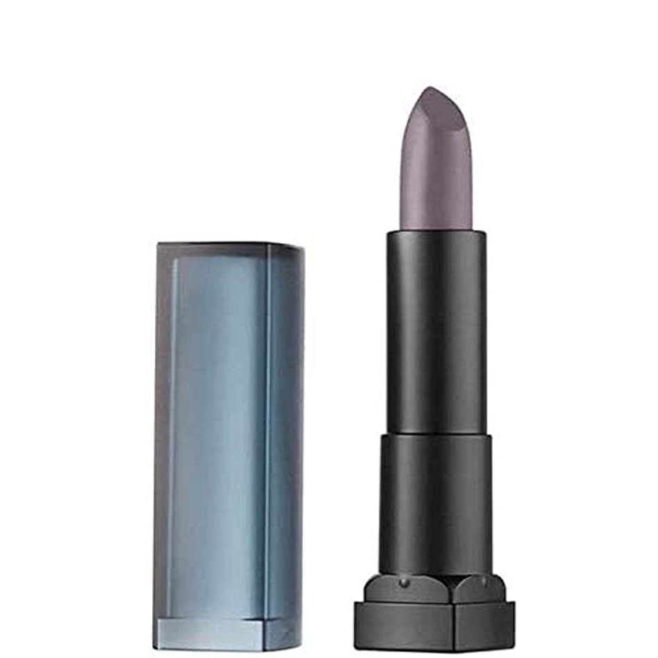 形成スピーチ充電[Maybelline ] メイベリンカラー扇情的なマットな口紅25冷却グレー - Maybelline Color Sensational Matte Lipstick 25 Chilling Grey [並行輸入品]