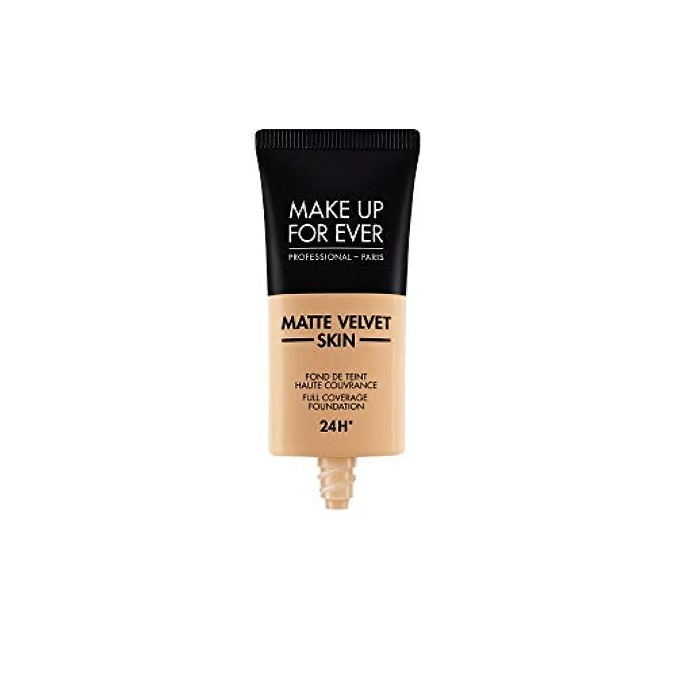 素子最近奇跡メイクアップフォーエバー Matte Velvet Skin Full Coverage Foundation - # R370 (Medium Beige) 30ml/1oz並行輸入品