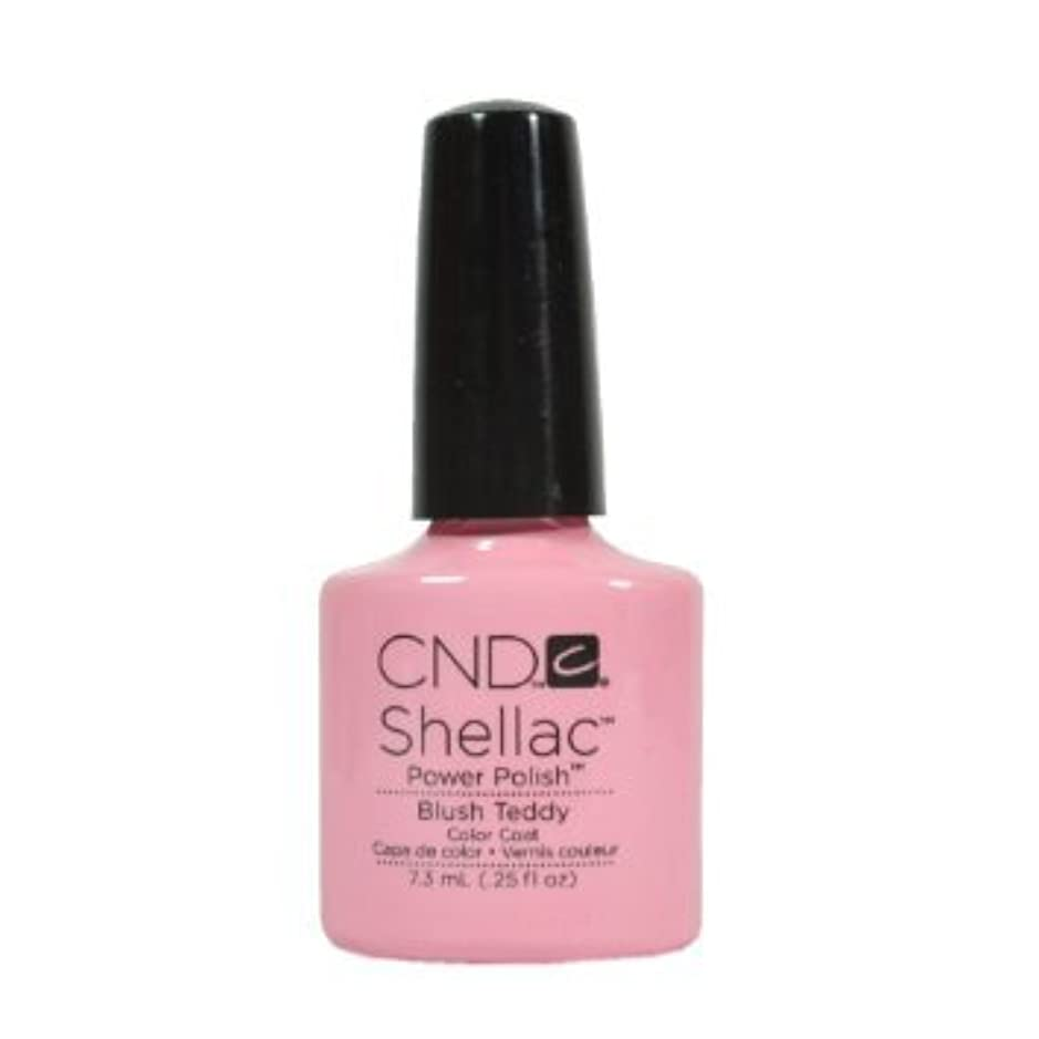 農業春電気技師CND Shellac Power Polish - Intimates Collection - Blush Teddy