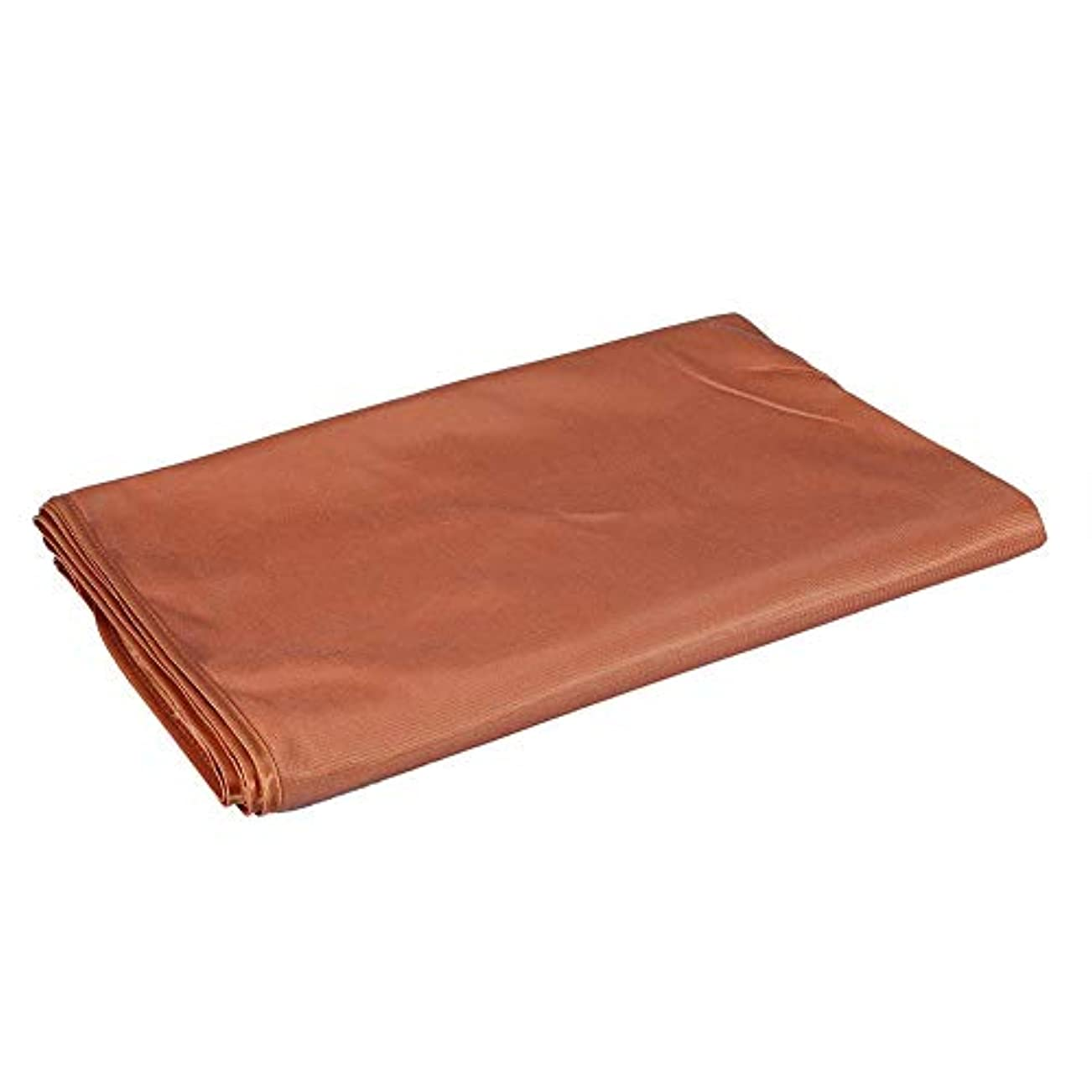 いらいらする茎読む美のマッサージのベッドカバー、表面呼吸穴が付いている柔らかいシートの鉱泉(120 x 200cm-キャメル)
