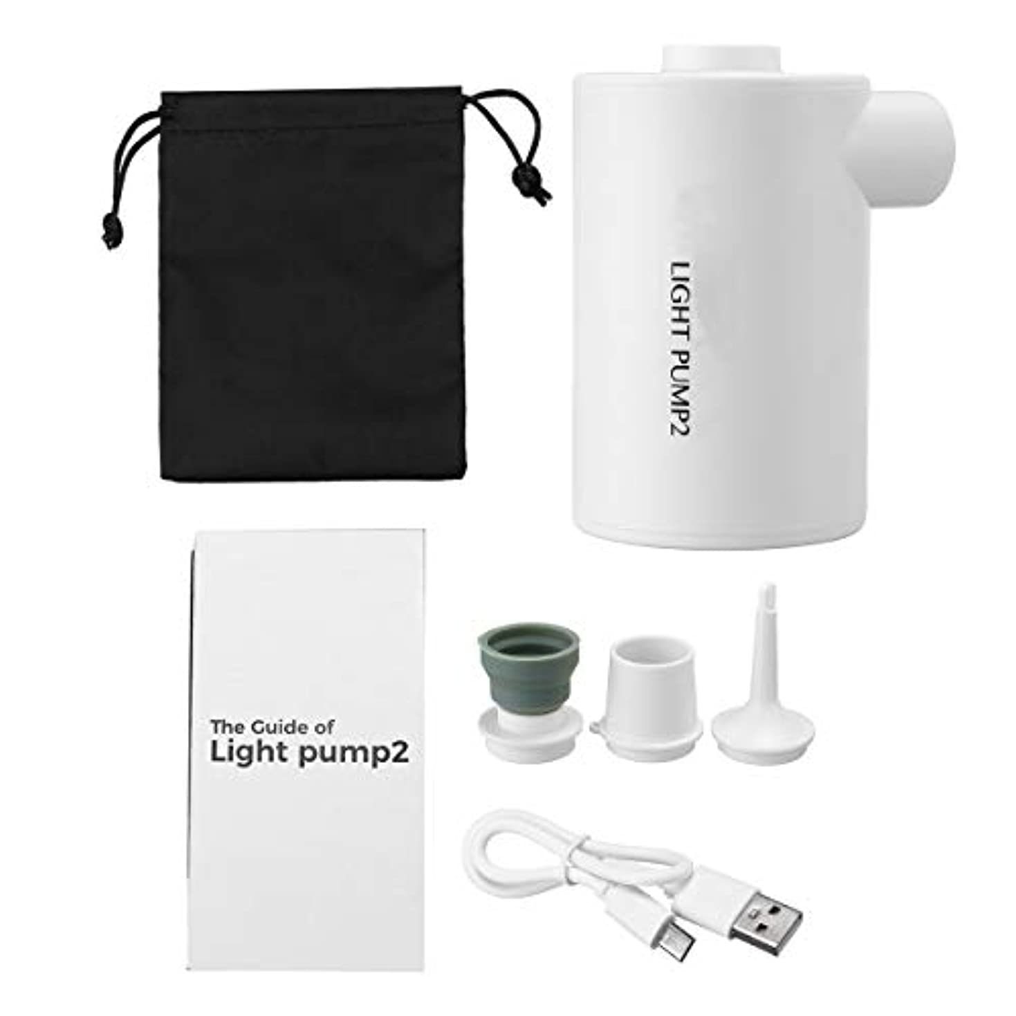 契約製造業住所JVSISM 屋外キャンプ Usb電動エアポンプ 高速かつ便利なエアポンプ ポータブル 超軽量 ミニポンププール エアクッション寝袋エアポンプ