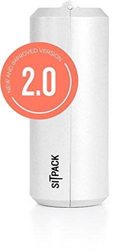 【最新モデル】 SITPACK 2.0 (シットパック)/コンパクトチェア/スタンディングデスク/フェス (ホワイト)