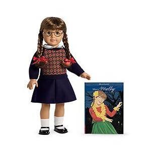 American Girl (アメリカンガール) Molly Doll & Paperback Book ドール 人形 フィギュア(並行輸入)