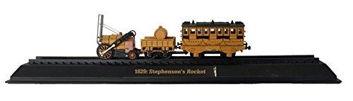 ロケット号 - 1829ダイキャスト1/76スケール機関車モデル Stephenson's Rocket - 1829 Diecast 1:76 Scale Locomotive Model (Amercom OO-27)