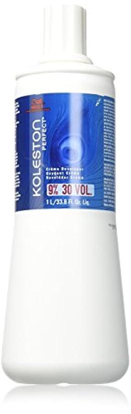 コードレス決定症候群Wella Kolestonパーフェクト30巻クリームデベロッパー、33.8オンス 32.oz