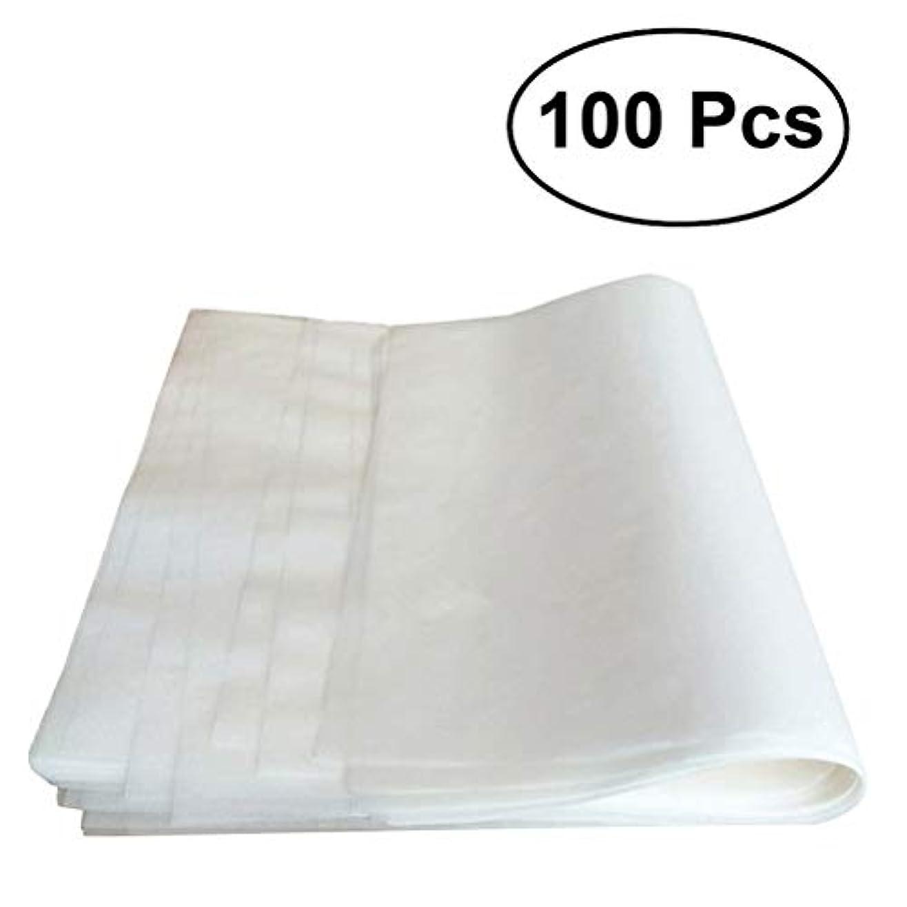 OUNONA クッキングシート オーブンシート バーベキュー グリルシート 耐熱 耐油 調理ペーパー 長方形 20x30CM 100枚