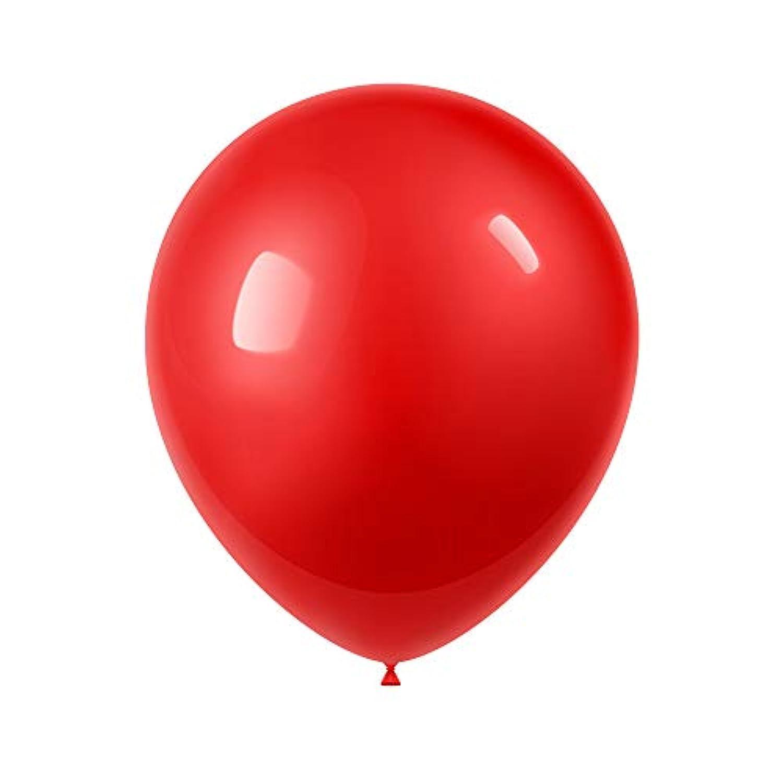 赤い風船100個 - 12インチ