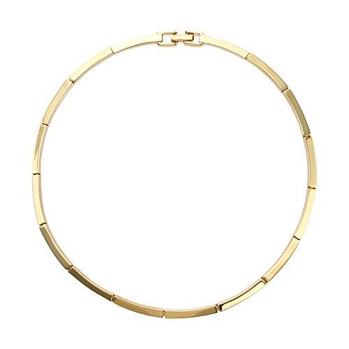 [ヴァンドームブティック] VENDOME BOUTIQUE ゴールドカラー メタル チョーカー タイプ ネックレス VBMN753240AU