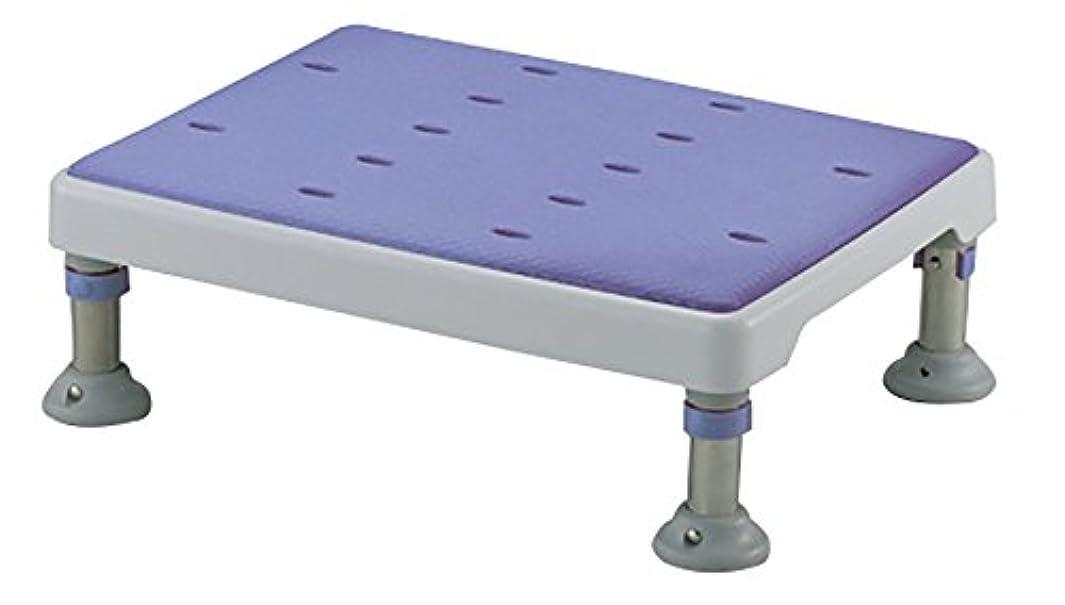 無意味面倒栄養豊通オールライフ やわらか浴槽台GR 高さ調節付 ロータイプ (高さ13.5~15cm/2段階調節) ステンレス製 ソフト天板取り外し可 浴槽内いす 吸盤付脚ゴム 浴槽内洗い場兼用