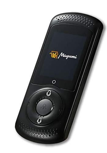 Amazon.co.jp 限定次世代AI携帯音声翻訳機MayumiII WiFiルーター機能・Bluetooth機能・グループ翻訳機能付 世界200ヶ国対応 SIMフリー カラー黒 (ブラック)