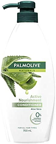 Palmolive Naturals Hair Conditioner Active Nourishment Aloe Vera for All Hair Types No Parabens 700mL