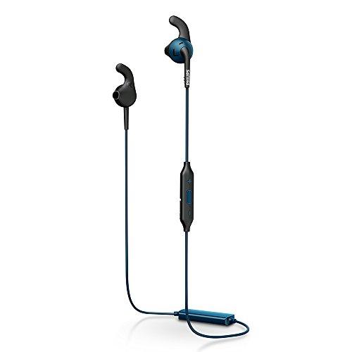 PHILIPS SHQ6500 Bluetoothイヤホン インイヤー/防滴/スポーツ対応 ブルー SHQ6500BL 【国内正規品】