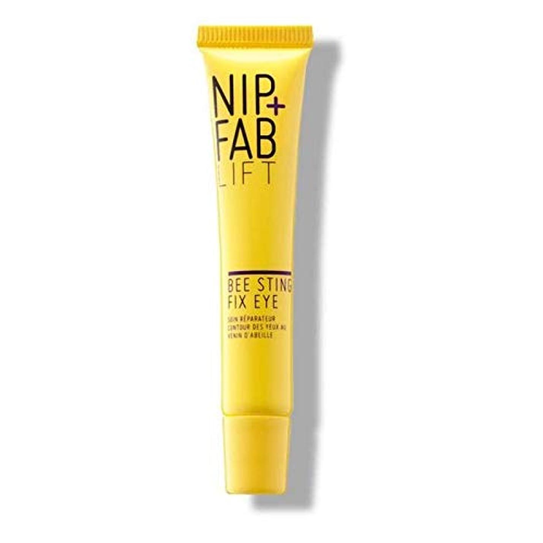 代わりの死の顎バーター[Nip & Fab] + Fab蜂刺傷修正アイクリーム15Mlニップ - Nip+Fab Bee Sting Fix Eye Cream 15ml [並行輸入品]