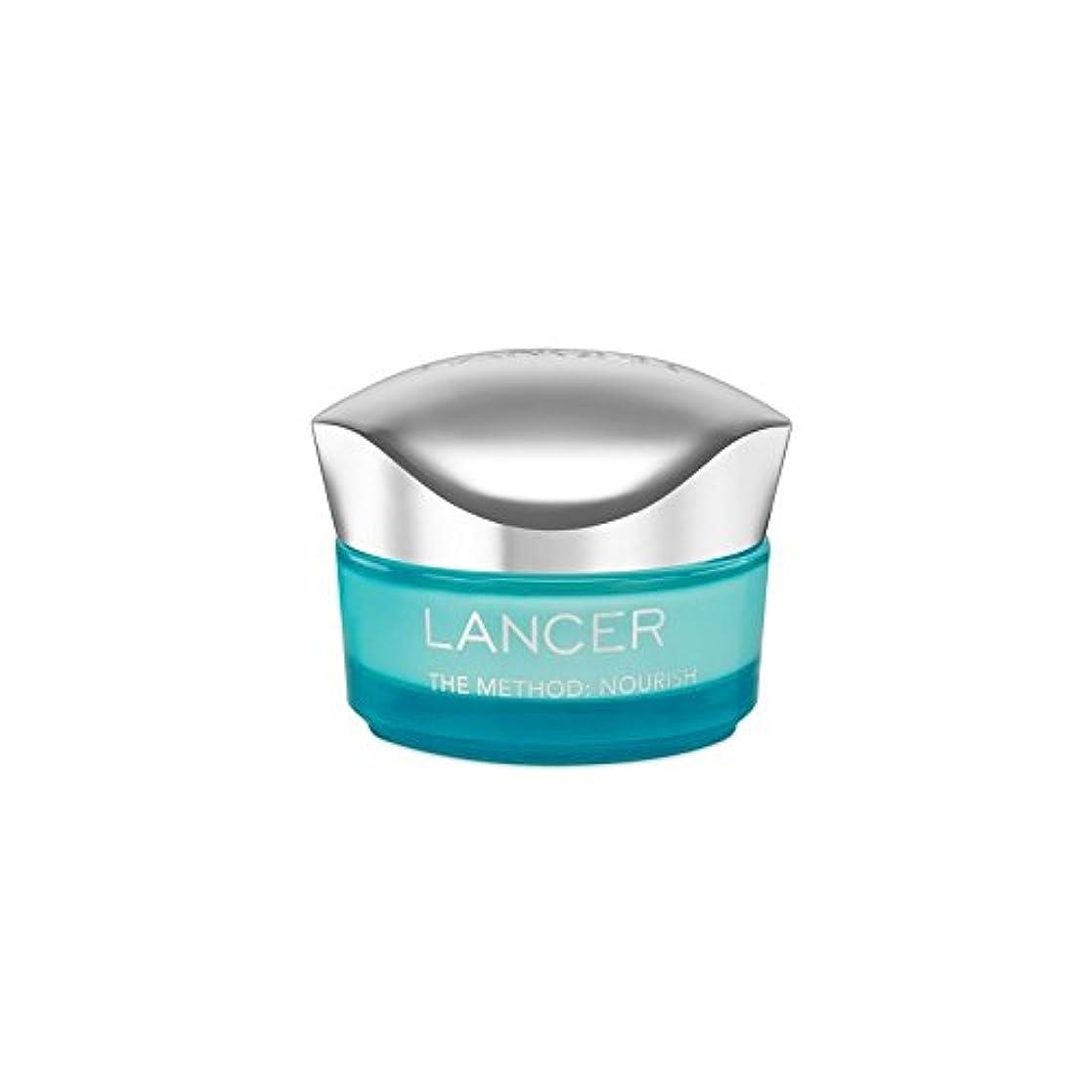 浴恐怖症風邪をひくLancer Skincare The Method: Nourish Moisturiser (50ml) - ランサーは、この方法をスキンケア:モイスチャライザー(50)に栄養を与えます [並行輸入品]