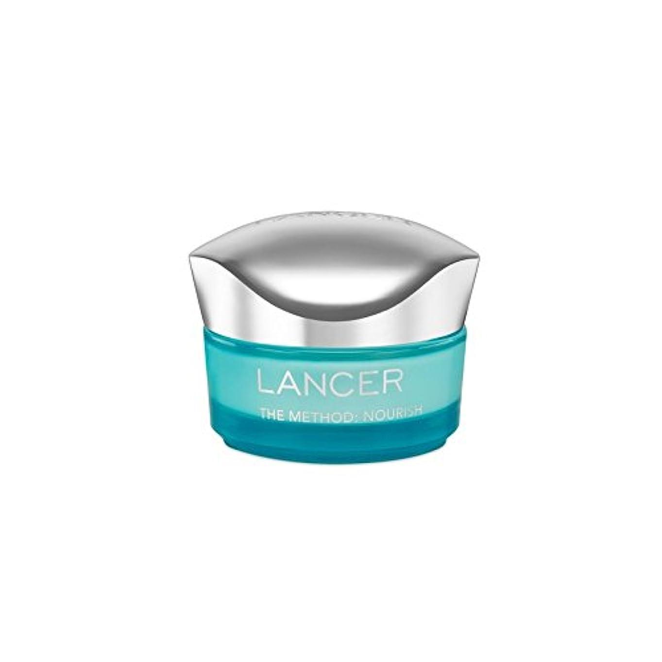 ごみロッカー横Lancer Skincare The Method: Nourish Moisturiser (50ml) (Pack of 6) - ランサーは、この方法をスキンケア:モイスチャライザー(50)に栄養を与えます x6...
