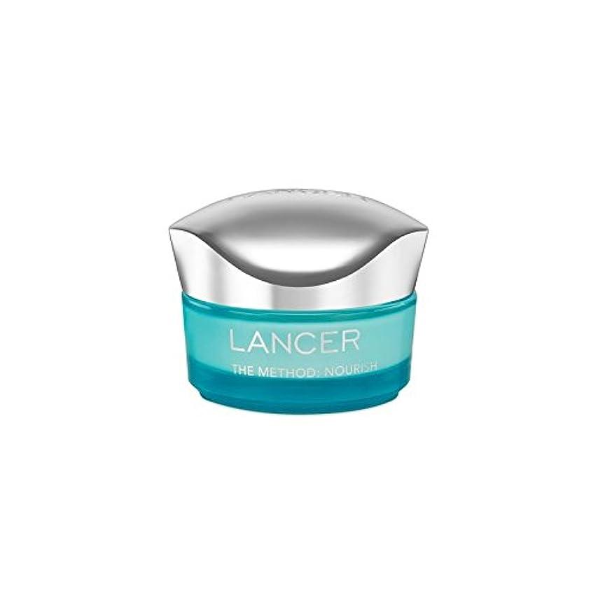 Lancer Skincare The Method: Nourish Moisturiser (50ml) - ランサーは、この方法をスキンケア:モイスチャライザー(50)に栄養を与えます [並行輸入品]