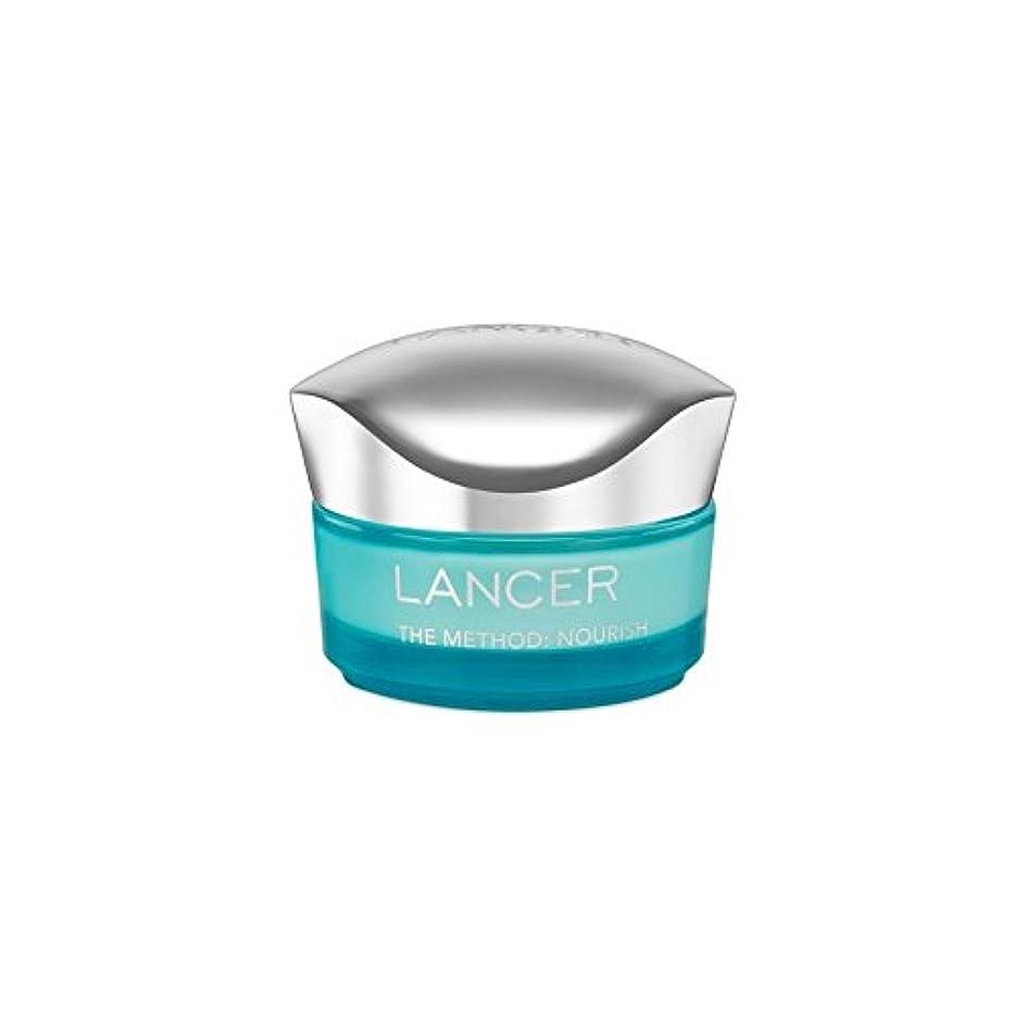 複合戻す月面Lancer Skincare The Method: Nourish Moisturiser (50ml) (Pack of 6) - ランサーは、この方法をスキンケア:モイスチャライザー(50)に栄養を与えます x6...