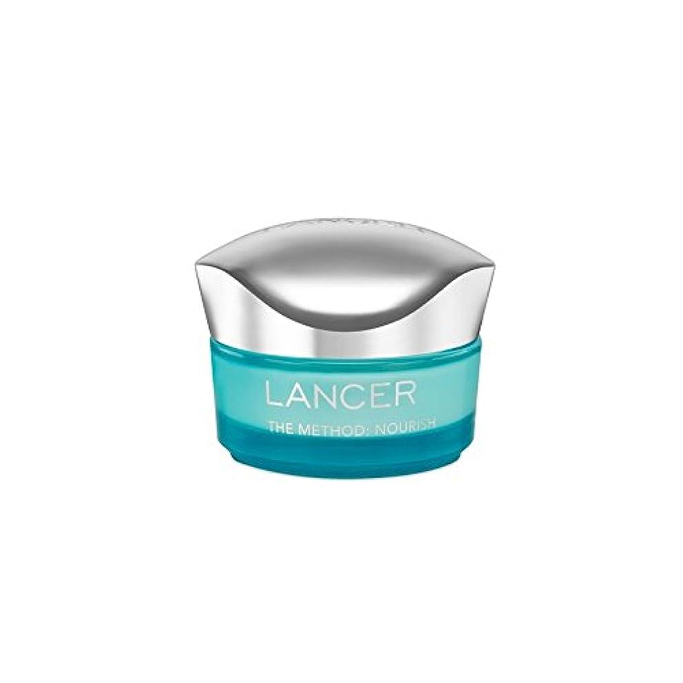 エリート発表歯科医Lancer Skincare The Method: Nourish Moisturiser (50ml) - ランサーは、この方法をスキンケア:モイスチャライザー(50)に栄養を与えます [並行輸入品]